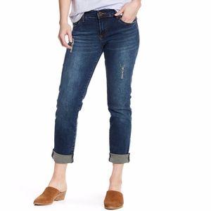 Kut from the Kloth Katy Boyfriend Dark Wash Jeans
